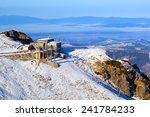 meteorology station on kasprowy ... | Shutterstock . vector #241784233
