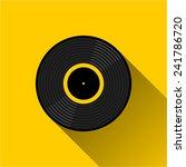gramophone vinyl lp record  ... | Shutterstock .eps vector #241786720