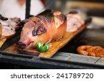 grilled suckling pig | Shutterstock . vector #241789720