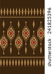 vector pattern tribal ethnic... | Shutterstock .eps vector #241825396