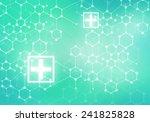 conceptual background digital... | Shutterstock . vector #241825828
