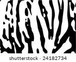 tiger texture | Shutterstock .eps vector #24182734