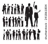 business people | Shutterstock .eps vector #241861804