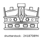 crown symbol | Shutterstock .eps vector #241870894