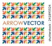 abstract arrow background | Shutterstock .eps vector #241895524