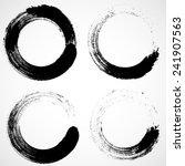 vector grunge logo design... | Shutterstock .eps vector #241907563