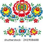 folk ornaments | Shutterstock .eps vector #241908688