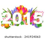 2015 new year illustration | Shutterstock . vector #241924063