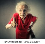 Grandma Pointing Out
