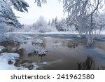 Winter Scenery From Finnish...