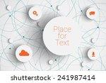 vector abstract  infographic... | Shutterstock .eps vector #241987414