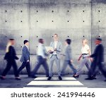 business man individuality role ... | Shutterstock . vector #241994446