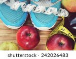 healthy lifestyle concept | Shutterstock . vector #242026483