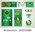 Set Of Happy St. Patrick's Day...