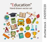 Education Hand Drawn Set...