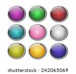 web buttons  | Shutterstock . vector #242065069