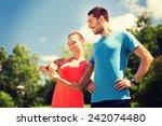 fitness  sport  training ... | Shutterstock . vector #242074480