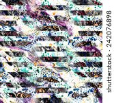 abstract textured seamless...   Shutterstock . vector #242076898