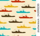 seamless vector texture with... | Shutterstock .eps vector #242090230