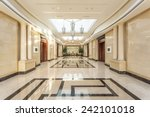 modern hotel interior and... | Shutterstock . vector #242101018