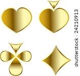 vector play card set eps 8 | Shutterstock .eps vector #24210913