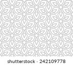 seamless  pattern a white... | Shutterstock .eps vector #242109778