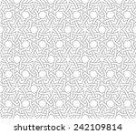 fashion ornamental seamless... | Shutterstock .eps vector #242109814