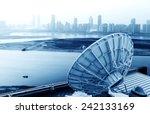picture of parabolic satellite... | Shutterstock . vector #242133169