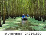 Tourism Rowing Boat In Mekong...