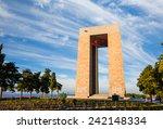 canakkale martyrs' memorial...   Shutterstock . vector #242148334