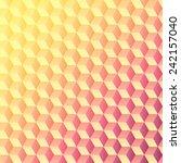 cubes   background pattern ... | Shutterstock .eps vector #242157040