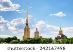 Peter And Paul Cathedral In St...