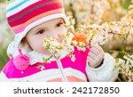 Portrait Of Cute Little Girl O...