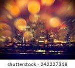 urban life. chicago at night.   Shutterstock . vector #242227318