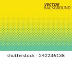abstract halftone background.... | Shutterstock .eps vector #242236138