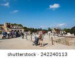 crete  greece   october 09 ... | Shutterstock . vector #242240113