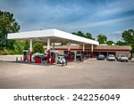 gas station and convenience... | Shutterstock . vector #242256049