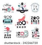 Pet Store Logo Template. Wild...