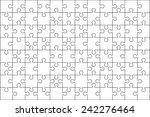 96 Jigsaw Puzzle Blank Templat...