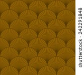 seamless vintage pattern of... | Shutterstock .eps vector #242291848