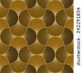 seamless vintage pattern of... | Shutterstock .eps vector #242291854