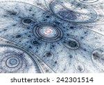 Blue Abstract Julian Fractal...