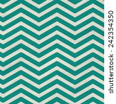 chevron background in teal and... | Shutterstock . vector #242354350