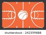 basketball poster design ... | Shutterstock .eps vector #242359888