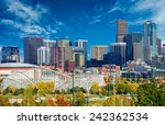 sunny day in denver colorado ... | Shutterstock . vector #242362534