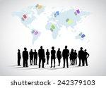 giving direction | Shutterstock .eps vector #242379103