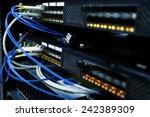 connected telecommunication... | Shutterstock . vector #242389309