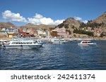 titicaca lake  bolivia  ... | Shutterstock . vector #242411374