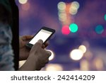 Using Cellphone Outdoors   Wit...