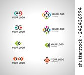 business icons set   isolated... | Shutterstock .eps vector #242436994